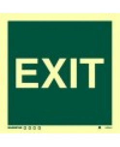 Exit Sign-Photolumincent